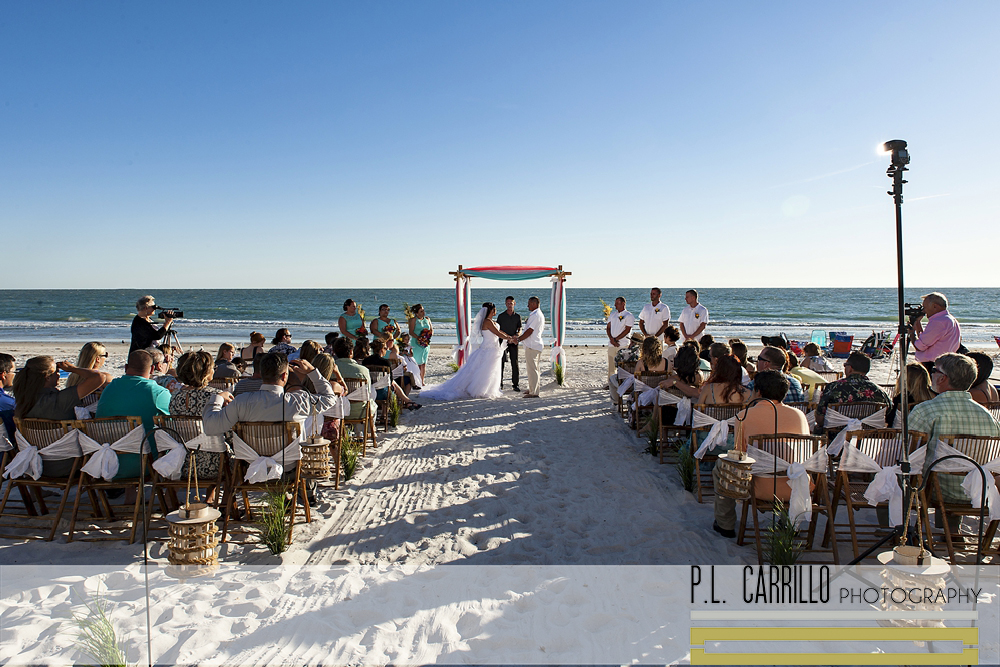 Daniel Nicole A Redington Beach Wedding